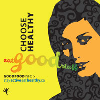 choose healthy, eat good food